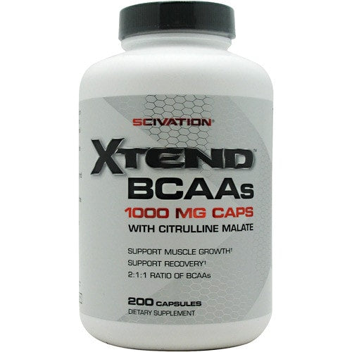 Scivation Xtend BCAA Caps 200caps - AdvantageSupplements.com