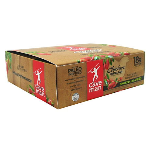 Caveman Foods Chicken Primal Bars 12 per box - AdvantageSupplements.com