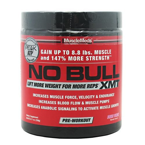 MuscleMeds No Bull XMT 230gm - AdvantageSupplements.com