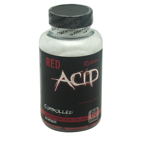 Controlled Labs Red Acid Reborn 60caps - AdvantageSupplements.com