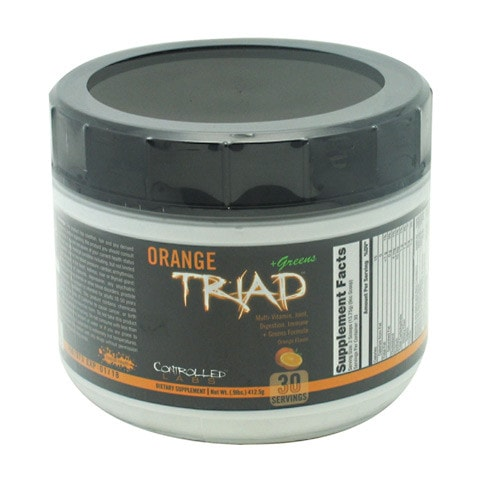 Controlled Labs Orange Triad + Greens (30 servings) - AdvantageSupplements.com