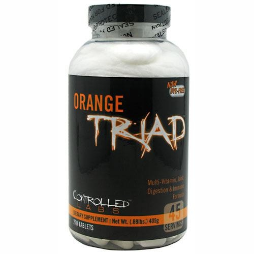 Controlled Labs Orange Triad 270tabs - AdvantageSupplements.com