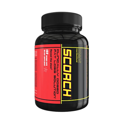 MAN Sports Scorch 168caps - AdvantageSupplements.com
