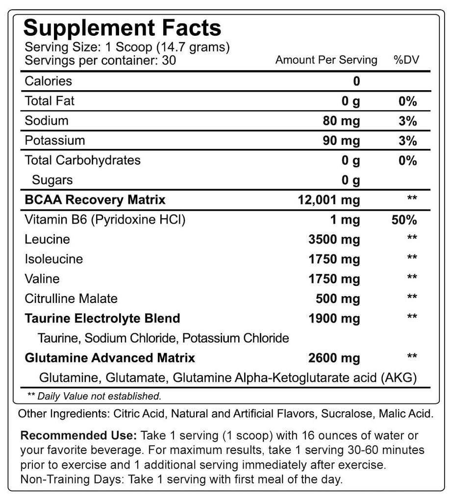 Nutrakey BCAA Optima (30 servings) - AdvantageSupplements.com