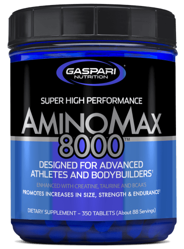 Gaspari Nutrition Amino Max 8000 350tabs - AdvantageSupplements.com