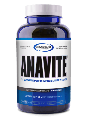 Gaspari Nutrition Anavite 180tabs - AdvantageSupplements.com