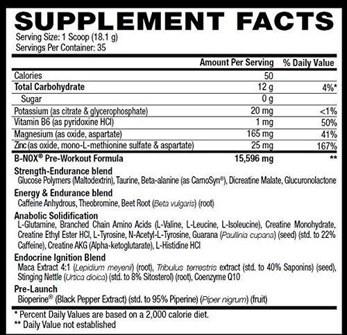 Betancourt Nutrition B-Nox (35 servings) - AdvantageSupplements.com