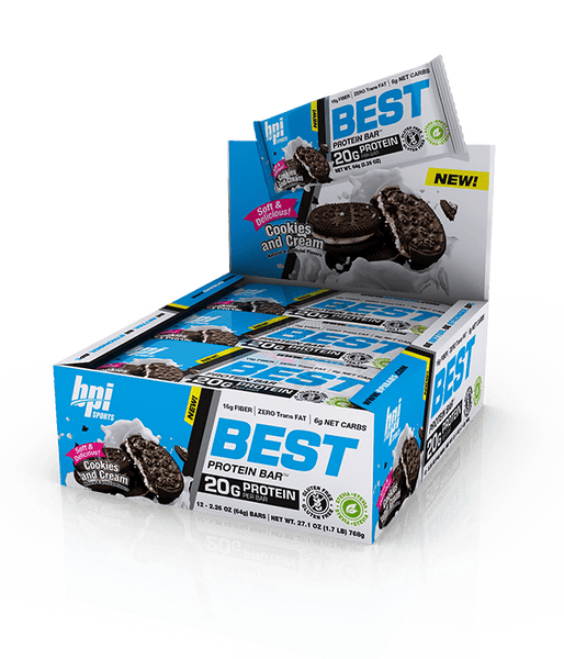BPI Best Protein Bar (12 bars) - AdvantageSupplements.com