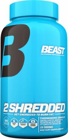 Beast Sports Nutrition 2 Shredded 60caps - AdvantageSupplements.com