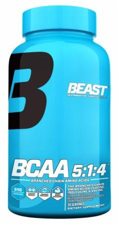 Beast Sports Nutrition BCAA 5:1:4 240caps - AdvantageSupplements.com
