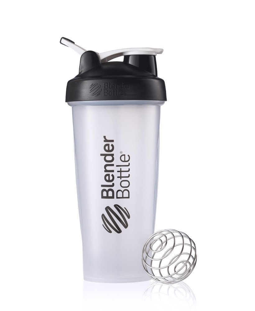 Blender Bottle Black 20oz - AdvantageSupplements.com