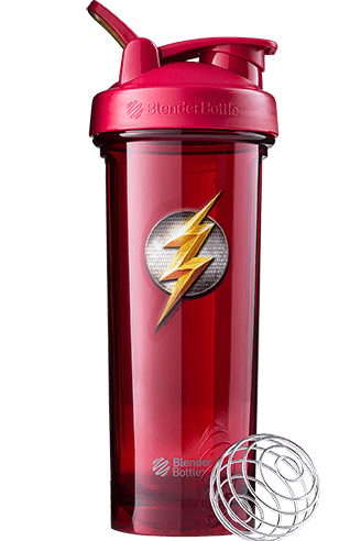 Blender Bottle Justice League Flash 32oz - AdvantageSupplements.com