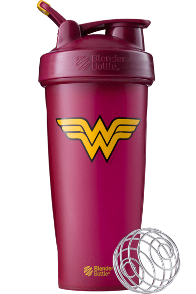Blender Bottle DC Comics Wonder Woman 28oz - AdvantageSupplements.com