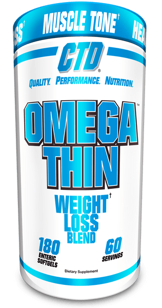 CTD Sports Omegathin | Weight Loss Blend 180softgels - AdvantageSupplements.com