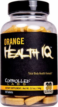 Controlled Labs Orange Health IQ 90tabs - AdvantageSupplements.com
