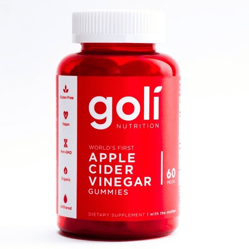 Goli Nutrition Apple Cider Vinegar Gummies 60ct