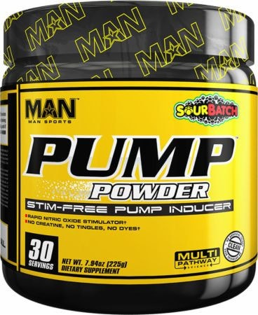MAN Sports Pump Powder (30 servings) - AdvantageSupplements.com