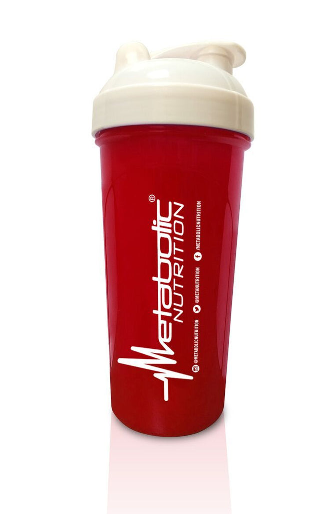 Metabolic Nutrition Shaker Cup (Red) - AdvantageSupplements.com