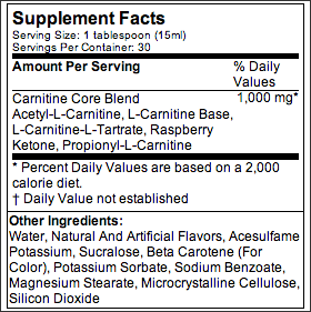 MusclePharm Core Series Liquid Carnitine 16floz - AdvantageSupplements.com