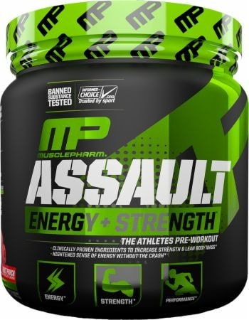 MusclePharm Assault Pre-Workout Sport Series (30 servings) - AdvantageSupplements.com