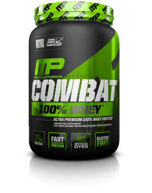MusclePharm Combat 100% Whey Protein 2lbs - AdvantageSupplements.com