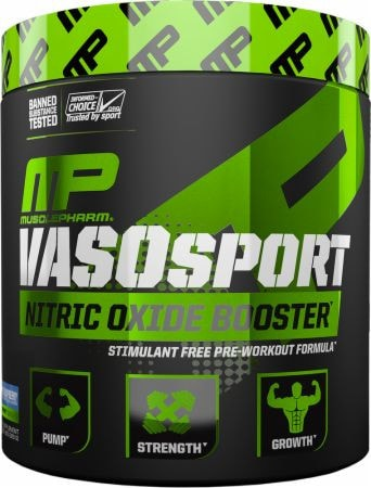 MusclePharm VasoSport Stimulant Free Pre-Workout (30 servings)