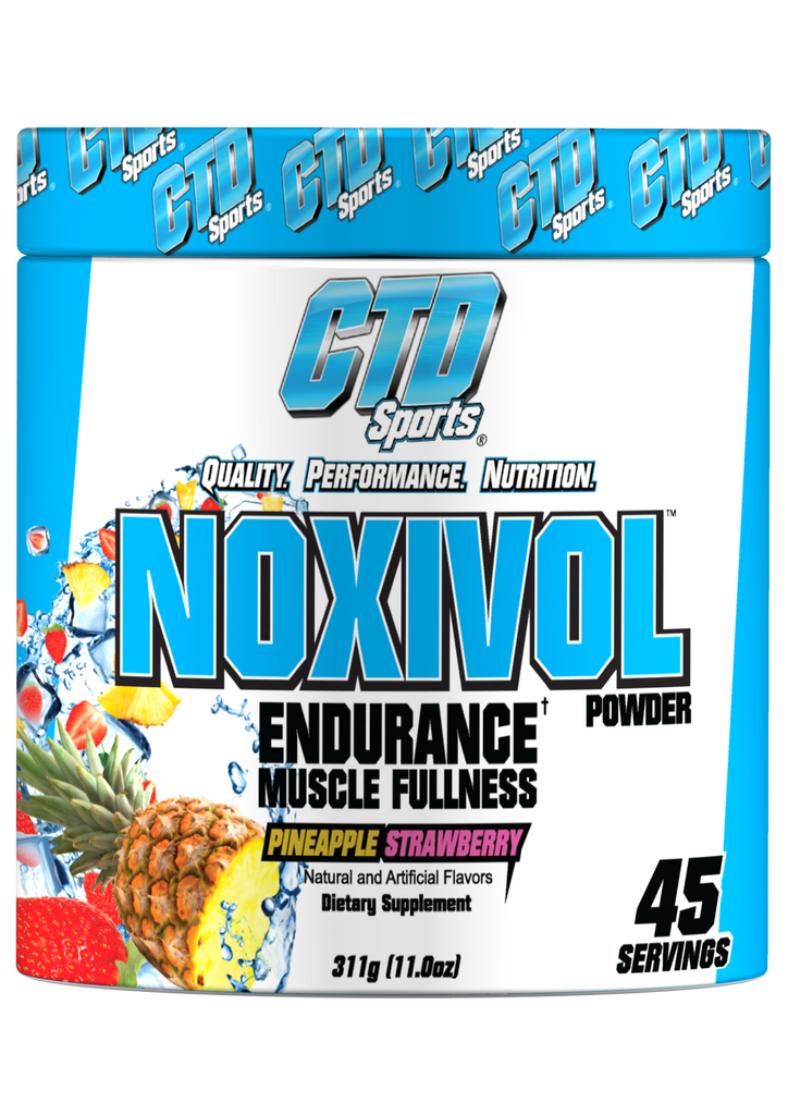 CTD Sports Noxivol Powder Strength Enhancing Vasodilator 320gm (45 servings) - AdvantageSupplements.com