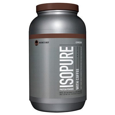 Nature's Best Isopure Protein Powder with Coffee 3lbs - AdvantageSupplements.com