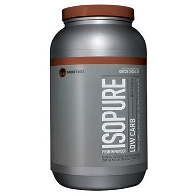 Nature's Best Low Carb Isopure 3lb Dutch Chocolate - AdvantageSupplements.com