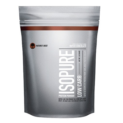 Nature's Best Low Carb Isopure Protein (1 POUND BAG) Dutch Chocolate - AdvantageSupplements.com