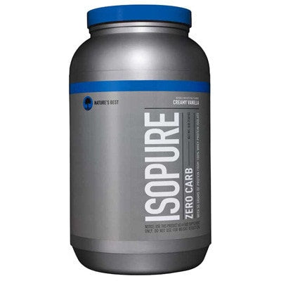 Nature's Best Zero Carb Isopure Protein 3lb - AdvantageSupplements.com