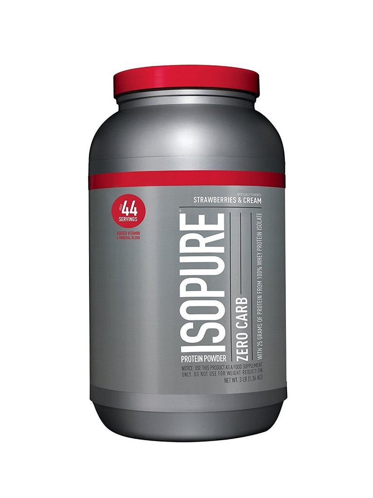 Nature's Best Zero Carb Isopure Protein 3lb