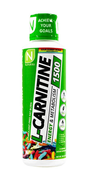 Nutrakey L-Carnitine 1500 16floz (31 servings) - AdvantageSupplements.com