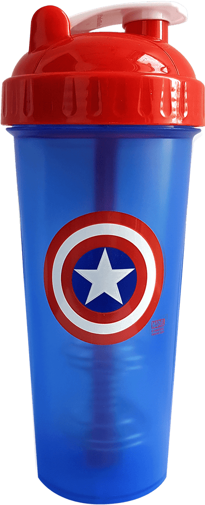 PerfectShaker Captain America 28oz Shaker Cup - AdvantageSupplements.com