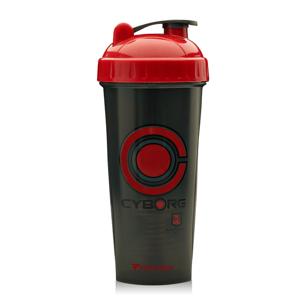 PerfectShaker Justice League Series Cyborg 28oz Shaker Cup