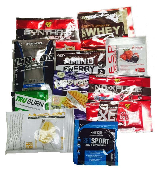 3 Random Product Samples - AdvantageSupplements.com
