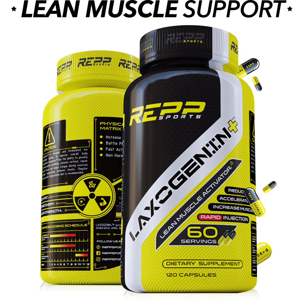 Repp Sports Laxogenin+ Lean Muscle Activator 120caps