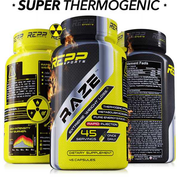 Repp Sports Raze Extreme Fat Burner (45 caps)