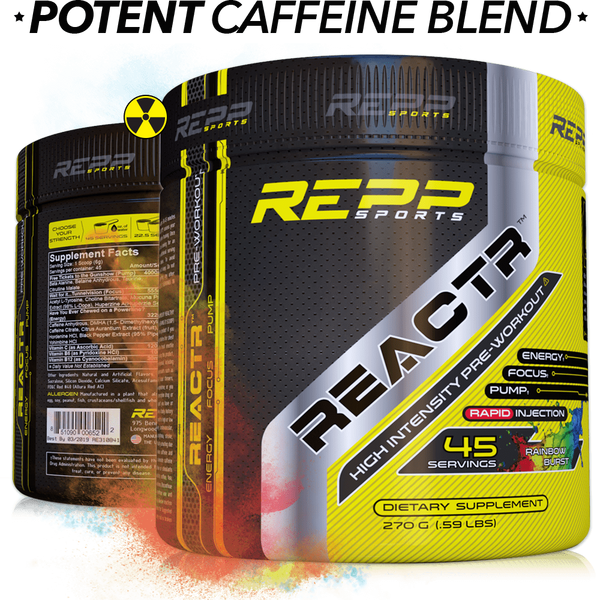 Repp Sports Reactr Pre-Workout (45 servings)