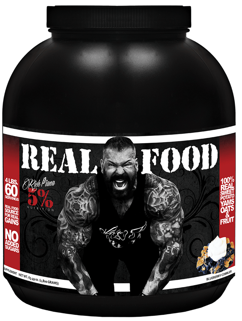 Rich Piana 5% Nutrition Real Food (4 lbs) - AdvantageSupplements.com