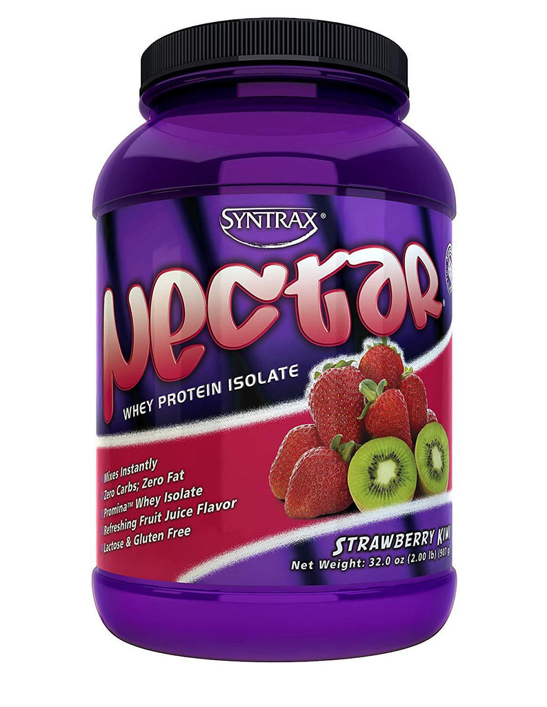 Syntrax Nectar Whey Protein Isolate 2lbs (with FREE AeroBottle)