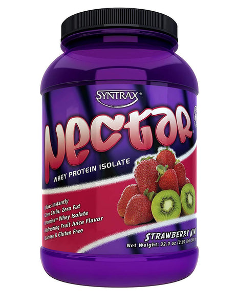 Syntrax Nectar Whey Protein Isolate 2lbs - AdvantageSupplements.com