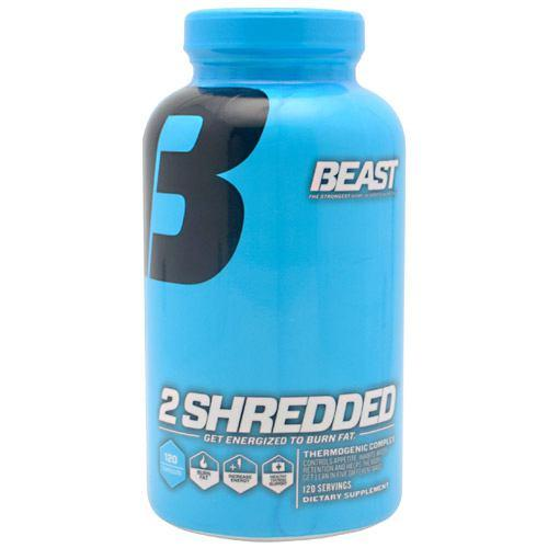Beast Sports Nutrition 2 Shredded 120caps - AdvantageSupplements.com