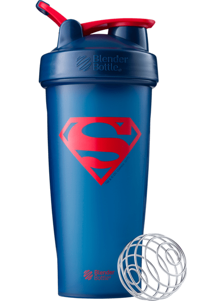 Blender Bottle DC Comics Superman 28oz - AdvantageSupplements.com
