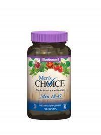 Bluebonnet Nutrition Men's Choice Multivitamin 18-49 90caps - AdvantageSupplements.com