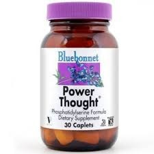 Bluebonnet Nutrition Power Thought 30 Caplets - AdvantageSupplements.com