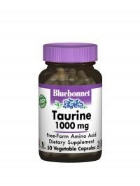 Bluebonnet Nutrition Taurine 1000mg 50caps - AdvantageSupplements.com