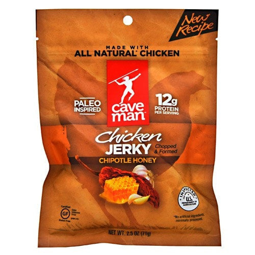 Caveman Foods Chicken Jerky 2.5oz - AdvantageSupplements.com