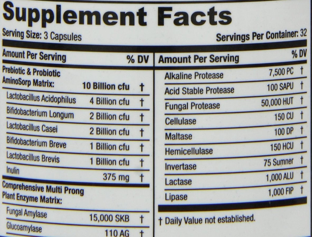 SAN Cultivate Nutrition facts