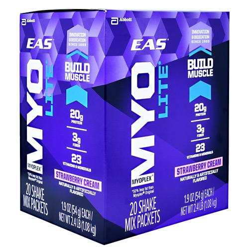 EAS Myoplex Lite Nutrition Shake (20 packets) - AdvantageSupplements.com